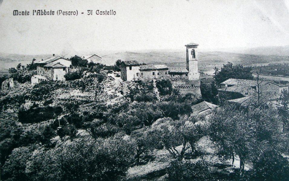 Montelabbate, anni '10-'20 del '900. Il Castello - Memoteca Pian del Bruscolo