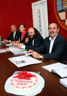 """Pesaro, 14 giugno 2011. Conferenza stampa di presentazione del numero 3 di """"Promemoria"""""""