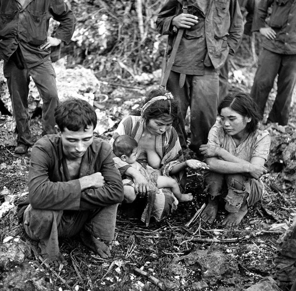 Civilians After The Battle For Saipan