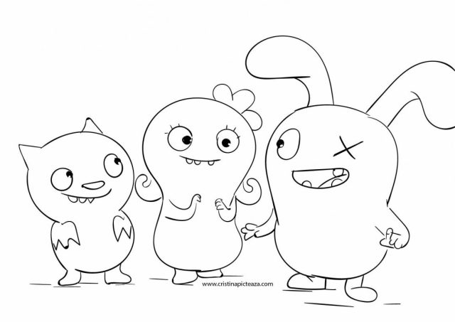 Ugly Dolls Coloring pages – Download Uglydolls for coloring