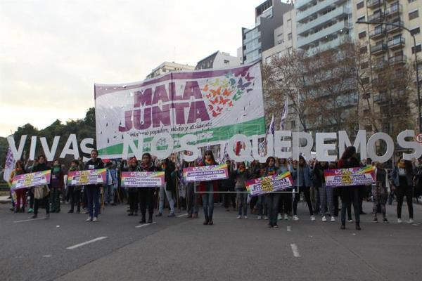 imagen - Argentina duplica feminicidios vinculados y endurece el drama de la violencia