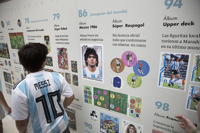 """raspagol - Argentina desempolva sus """"figuritas"""" como talismán para el Mundial de Rusia"""