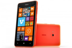 windows phone lumia 625 red