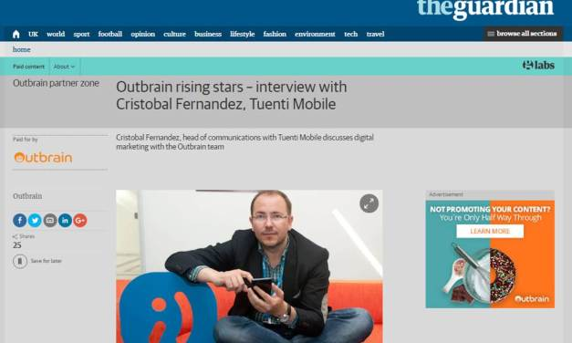 Outbrain rising stars – interview with Cristobal Fernandez, Tuenti Mobile