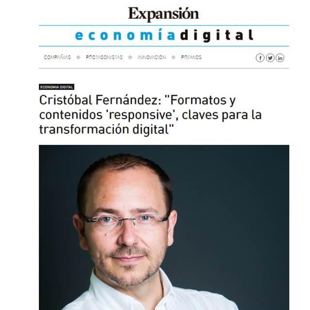 """""""Formatos y contenidos 'responsive', claves para la transformación digital"""""""