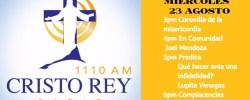 EN VIVO CRR Mierc 23 Agosto 3pm a 7pm