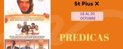 Ambiorix Padilla –  los valores en la Familia –  SEMANA DE FAMILIAS St Pius X – Predica Lunes 16 Octubre