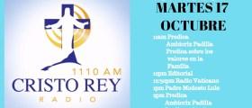 Cristo Rey Radio En Vivo Martes 17 Octubre 11am a 3pm