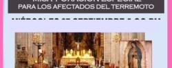 Misa y Hora Santa en la Catedral de México por los afectados del terremoto