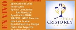Cristo Rey Radio En Vivo Viernes 10 Noviembre 3pm a 7pm