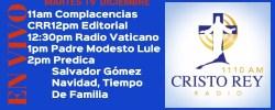 Cristo Rey Radio En Vivo Martes 19 Diciembre 11am a 3pm