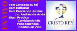 Cristo Rey Radio En Vivo Jueves 28 Diciembre 7am a 11am