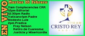 Cristo Rey Radio En Vivo Mart 20 Febrero 1pm a 4pm