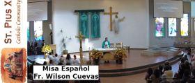 Misa Sanación  – FR. Wilson Cuevas  – Martes 24 Abril 2018