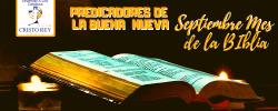 Septiembre Mes de La Biblia INTRODUCCIÓN A LA BIBLIA