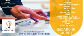 Cristo Rey Radio En Vivo Sabado 16 Junio 8am a 1pm