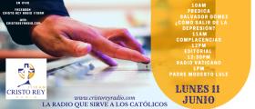 Cristo Rey Radio En Vivo  Lun 11  Junio   10am a 2pm