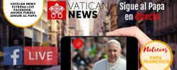 Vatican News estrena LIVE Facebook. Ahora puedes seguir al Papa