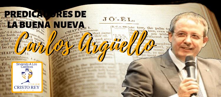 Predica Carlos Argüello Congreso AFERRATE A JESÚS El Paso tx 10/03/2019