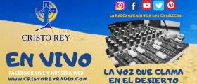 Programación Cristo Rey Radio En Vivo  Jueves 02 Abril  2020