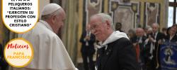 """El Papa a peluqueros italianos: """"Ejerciten su profesión con estilo cristiano"""""""