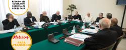 Desde hoy 30ª reunión del Consejo de Cardenales con el Papa