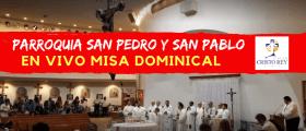 Misa Dominical Español  PARROQUIA SAN PEDRO Y SAN PABLO   – Domingo  Enero  19, 2020