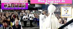 Misa Clausura Obispo Marck Saitz 6to Congreso de Mujeres 2020