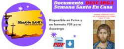 Documento  PDF Manual de Semana Santa para celebrarlo en familia