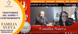 Familia Nueva, Mayo 28, 2020 – Trastornos del sueño y confinamiento
