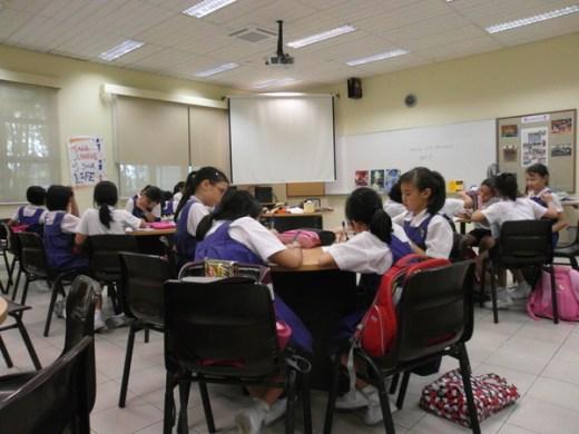 writing workshop at CHIJ Kellock8