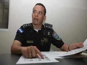 Leonel Sauceda, portavoz del Ministerio de Seguridad.
