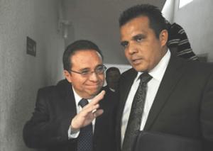El abogado defensor, Raúl Suazo Barillas, dice que la orden de la separación de la jueza, emana del presidente de la República.