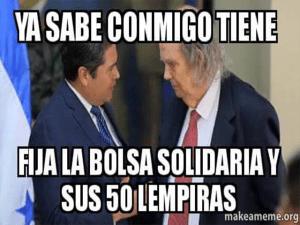 Lo califican de servil y de prestarse a los intereses del actual mandatario Juan Hernández.