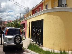 Esta es la vivienda de Susette Atuán Rojas, que fue asegurada por y está  ubicada en la colonia Miraflores Sur de Tegucigalpa.