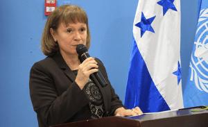 Consuelo Vidal, Coordinaora Residente e la ONU en Honduras.