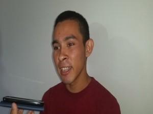 El corresponsal de Radio Progreso también fue agredido por  miembros de la policía y el ejercito.