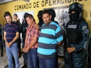 Hermanos Valle Valle cuando fueron capturados.