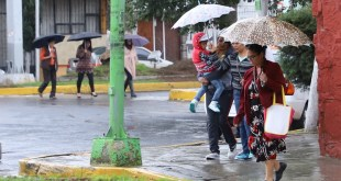 Se prevén lluvias vespertinas para Hidalgo este miércoles
