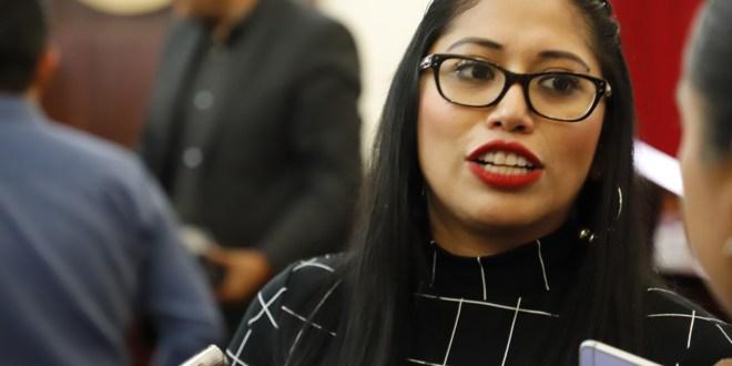 Génesis Marcela edil a no ejercer dinero de parquímetros