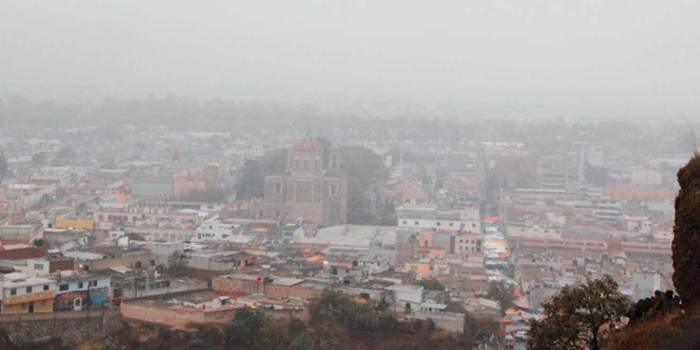 Temperaturas mínimas de 4 grados para este martes en Hidalgo
