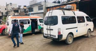 Semot sanciona a 250 unidades de transporte por desacato