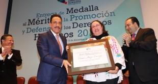 Niega Tania Meza que medalla al Mérito sea premio de consolación