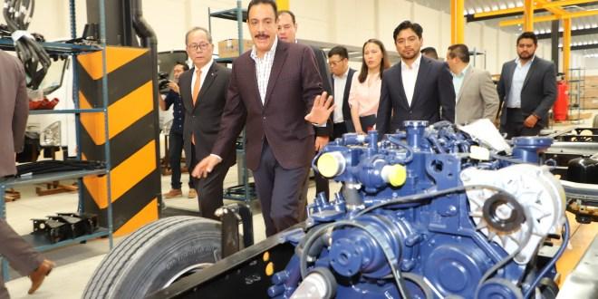 Abre FAW armadora de camiones de gas natural en Zapotlán