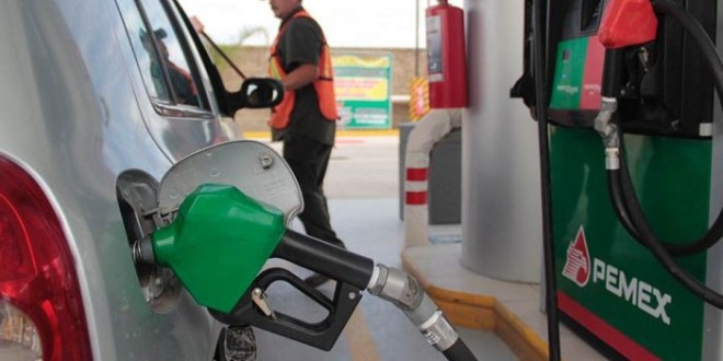 Gasolina aumenta 1.24 pesos precio mínimo en semana, en Pachuca