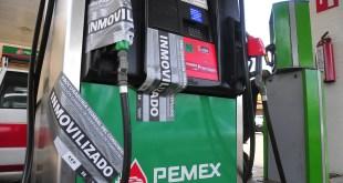 Inmovilizan mangueras en dos estaciones de gasolina de Hidalgo