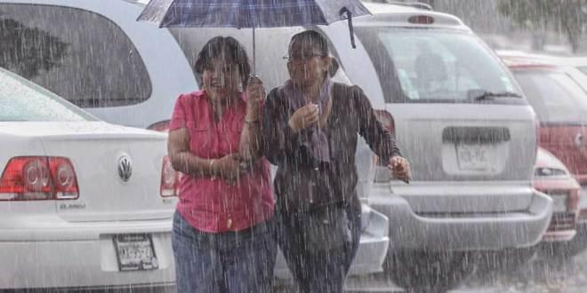 Se prevén lluvias para este miércoles en Hidalgo