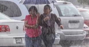 Se prevé que las lluvias fuertes continúen este miércoles en Hidalgo