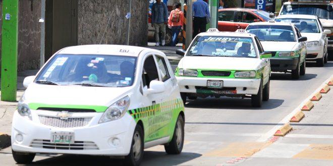 Denuncia Partido Verde presunto acarreo por medio de taxis en Pachuca