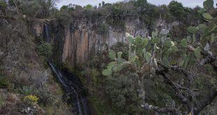 Barranca de Aguacatitla, en Huasca de Ocampo